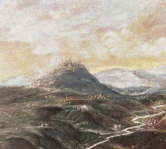Der Hohenstaufen um 1100, Gemälde von 1670