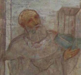 Friedrich I. von Schwaben in der Lorcher Klosterkirche; Foto: Staatliche Schlösser und Gärten Baden-Württemberg, Ulrich Rund
