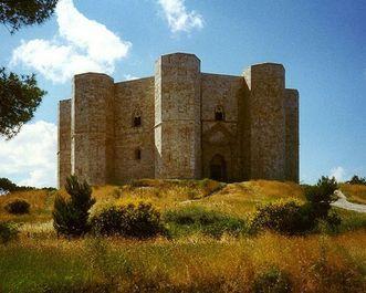 Castel del Monte in Süditalien bei Andria