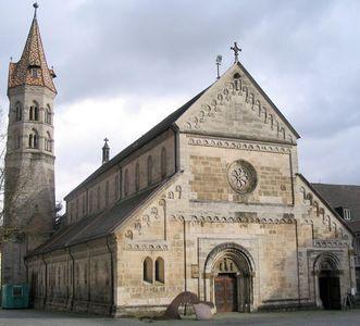 Romanische St. Johanniskirche in Schwäbisch Gmünd; Foto: Landesamt für Denkmalpflege, Irene Plein