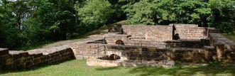 Remains of Castle Hohenstaufen; photo: Staatliche Schlösser und Gärten Baden-Württemberg, Rolf Schwarz