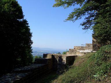 Hohenstaufen, Burgruine von außen