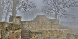 Ruinen der Burg Hohenstaufen