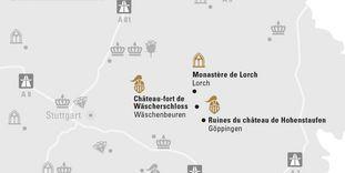 """Carte de région """"Ostalb et Göppingen"""""""
